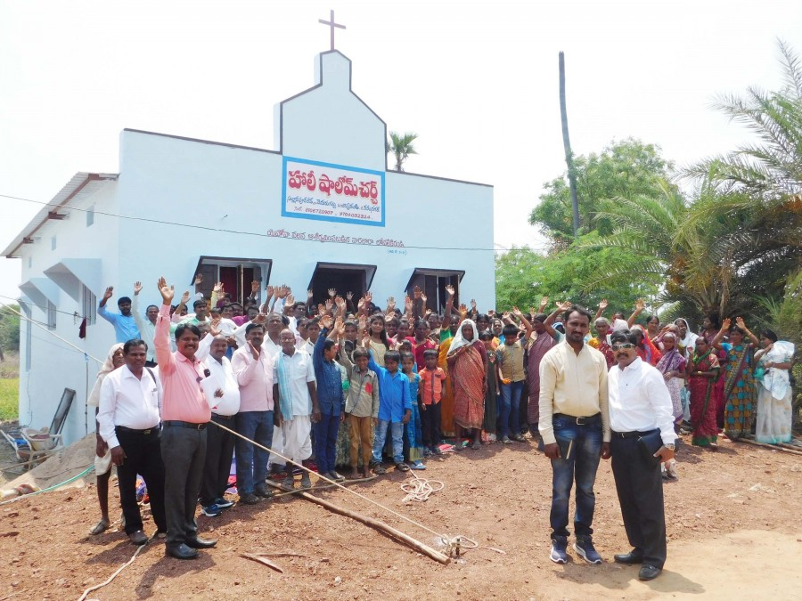 Choppandi Life Center dedication
